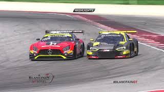 MISANO - RACE 2 - Highlights - Blancpain GT Series 2018 (Spoiler)