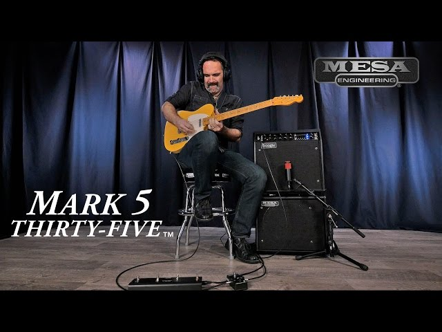 MESA/Boogie® Mark Five: 35™ CLEAN & SOLO Playthrough