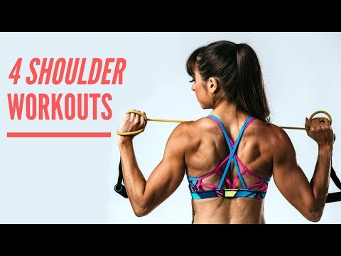 4 Shoulder Workouts (With sets and reps)