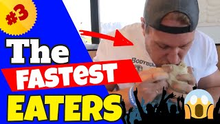 The Fastest Eaters Compilation #3 | Furious Pete & Matt Stonie