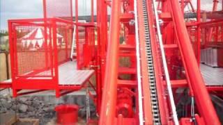 Unglaubliche Adrenalin-Achterbahn Huracan im Belan