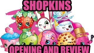 Shopkins Ballet Collection Fashion Spree Toy Opening Review