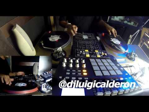 Clasic Music dj Luigi Calderon beat juggling live @djluigicalderon