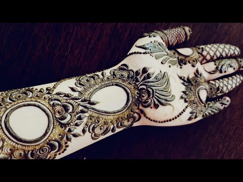 Gulf Henna Design 19 Heena Vahid Youtube