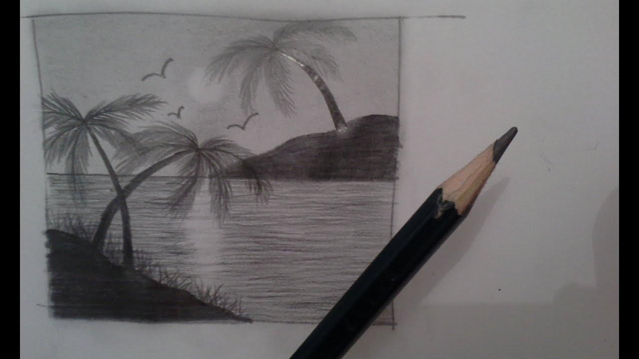 Aula De Desenho E Pintura Lapis 6b Youtube
