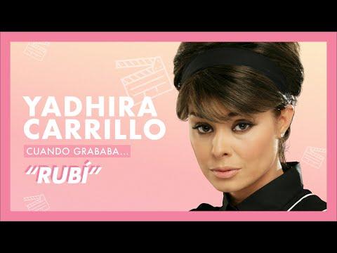 Yadhira Carrillo, cuando grababa… Rubí | Tlnovelas
