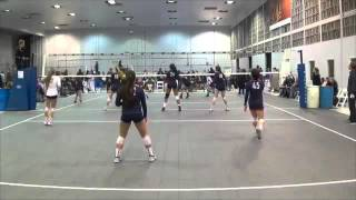 Khaya Price (2016) Middle Hitter - 2015 Club Volleyball Highlight