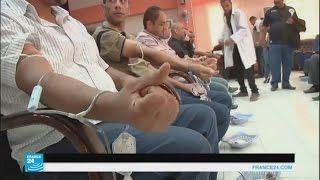 حملات للتبرع بالدم للقوات الأمنية المشتركة العراقية