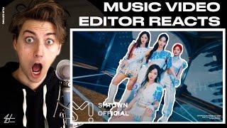 Video Editor Reacts to aespa 에스파 'Next Level' MV