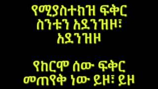 Munit & Jorg - Yekermo Sew የከርሞ ሰው (Amharic With Lyrics)