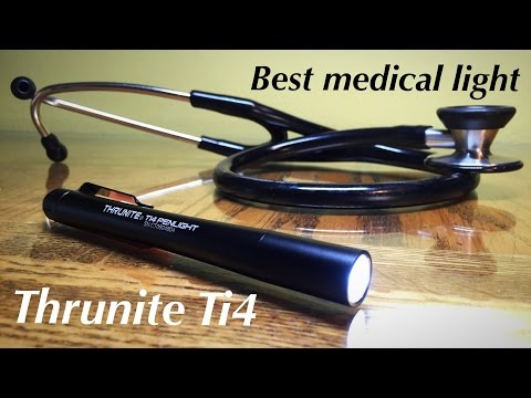 Best EDC / Medical Penlight? | Ti4 Thrunite Penlight | Review