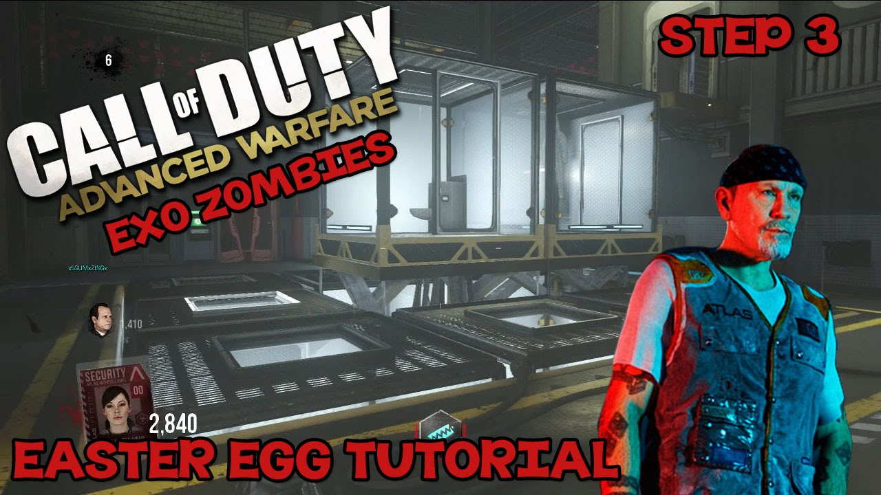 """Download 'Exo Zombies' FULL Easter Egg Guide STEP 3 Part 1 """"Oz's Key Card"""" (Advanced Warfare)"""