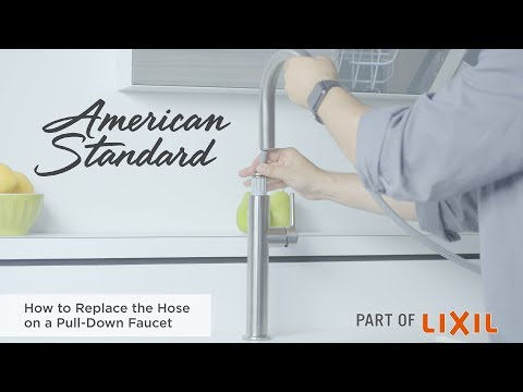 How To Replace The Hose On A Pull-Down Faucet