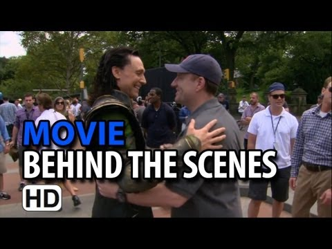 The Avengers (2012) B-Roll #4 Making of & Behind the Scenes
