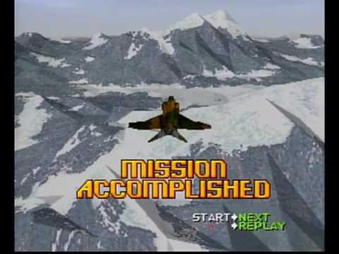 Ace Combat 2 PS1 Intro + Gameplay