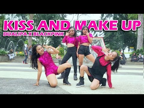 Dua Lipa & BLACKPINK - Kiss And Make Up Choreography By CUPCAKE