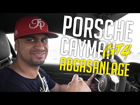 JP Performance - Porsche Cayman GT 4   Abgasanlage