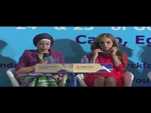 NIGER NATIONAL TV COVERAGE: PANEL 1ERE DAME 4E FORUM MERCK FOUNDATION EGYPTE 2017
