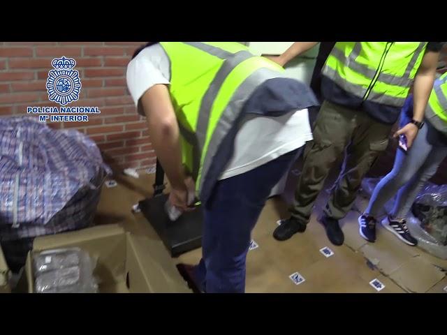 La Policía Nacional desarticula una organizaciondedicada a la distribución de hachís