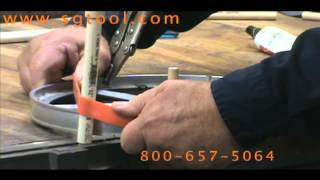 Band Saw Tire Installation Jig