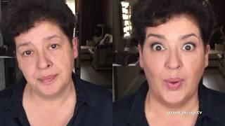 Нюдовый лифтинг-макияж - Nude lifting makeup