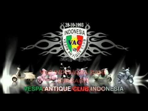 VESPA ANTIQUE CLUB   INDONESIA   MARS