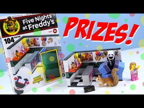 Five Nights At Freddy's 2 Fnaf Prize Corner With The Puppet McFarlane Construction Sets