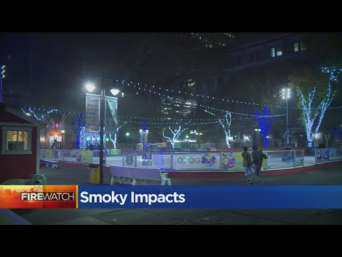 Smoke From Camp Fire Impacting Downtown Businesses