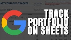 How to track your Stock Portfolio using GOOGLE SHEETS? [FREE TEMPLATE]