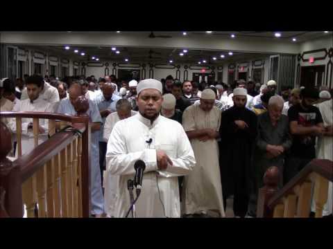 Sheikh Mohamed Ali, taraweeh, 4th night Surah Aal-Imran, Ramadan 2017,  الشيخ محمد علي