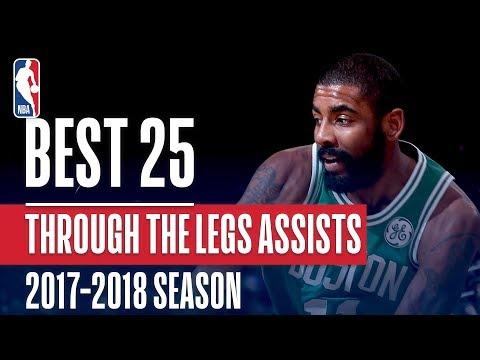 Best 25 Through the Legs Assists | 2018 NBA Season