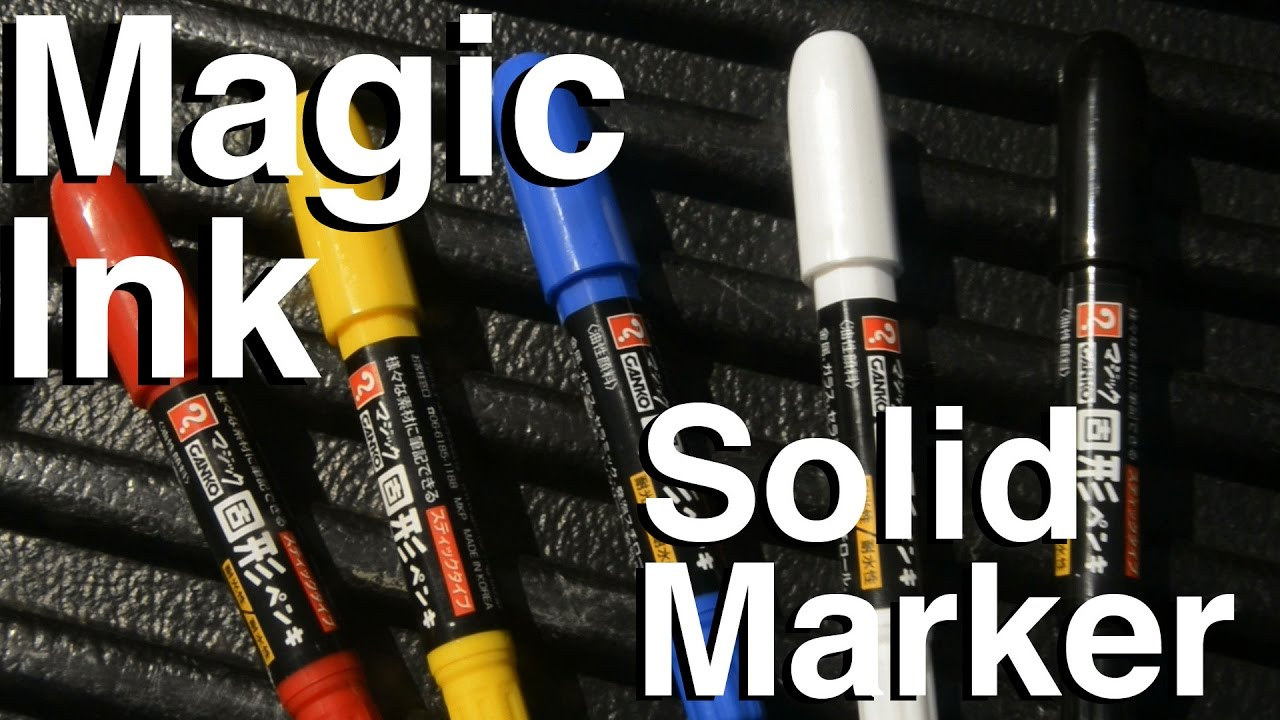 artprimo com magic ink solid marker review youtube