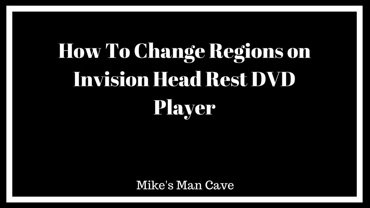 Invision Revolution Head Rest Dvd Player Region Change Youtube Headrest Wiring Diagram