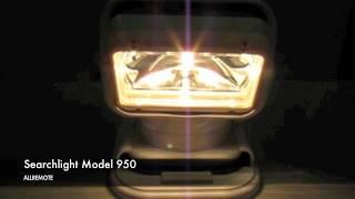 Allremote Portable Remote Control Searchlight Model 950