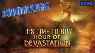 commander players check out top hour of devastation staples