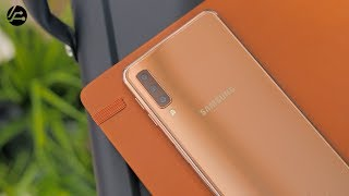 Samsung Galaxy A7 2018: Unboxing & Review: 3 Camera Goodness 📷📷📷 💯