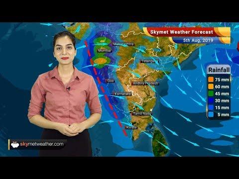 Weather Forecast Aug 5: Monsoon rains ahead for Delhi, Mumbai, Goa, Vadodara