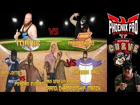 Phoenix Pro Wrestling @ The Altoona Curve 2017 (Featuring WWE's Sgt. Slaughter)