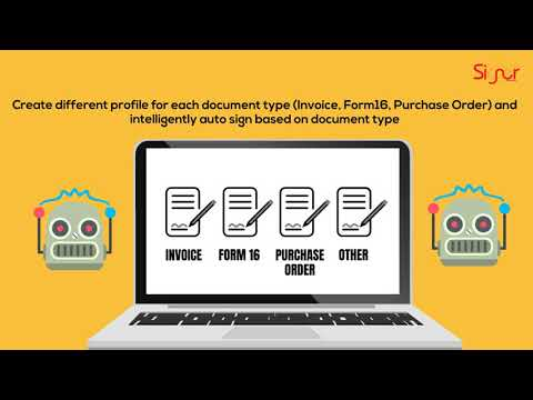 PDF Auto Signer to Sign Documents Digitally