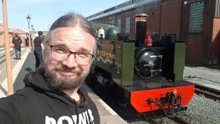 Behind the steams at the Vale of Rheidol Railway