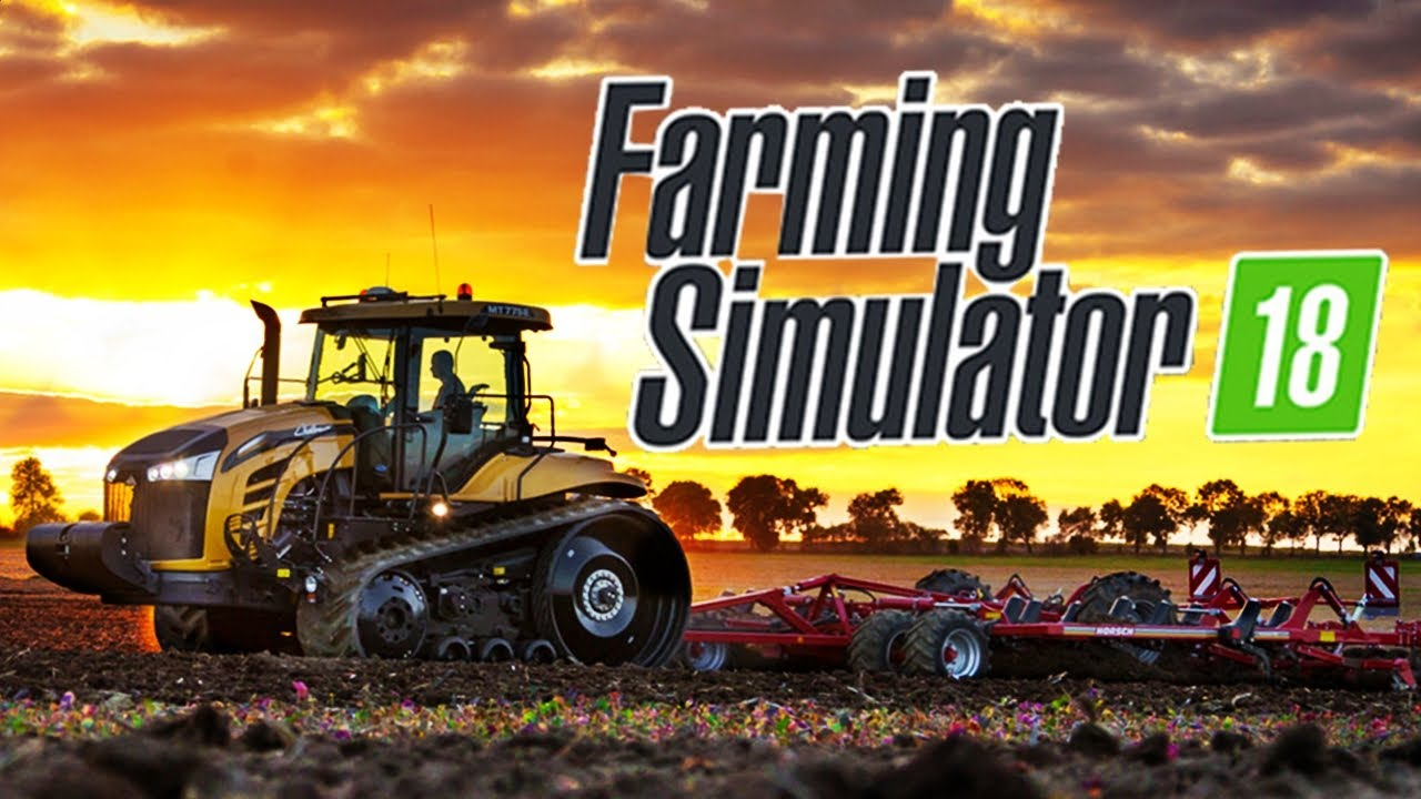 novos tratores do farming simulator 2018 youtube. Black Bedroom Furniture Sets. Home Design Ideas
