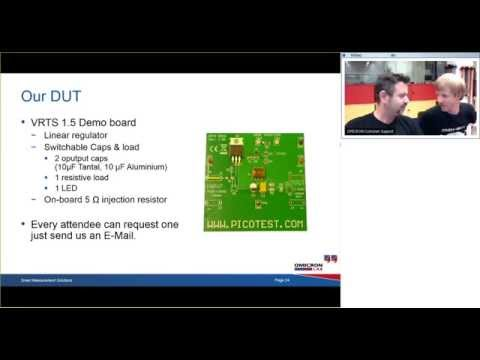 Webinar: Non invasive Stability Measurement of Power Supplies with Bode 100