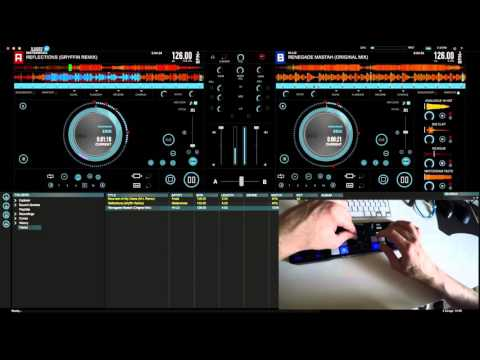 Hercules DJ Control Compact and DJUCED 18 Live Demo Performance