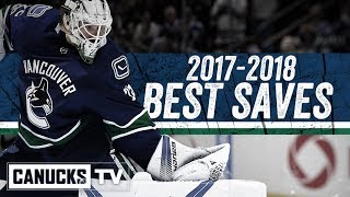 Canucks Best Saves of 2017-2018