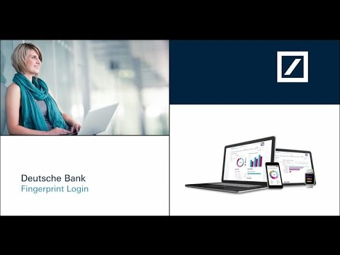 Deutsche Bank Fingerprint Login