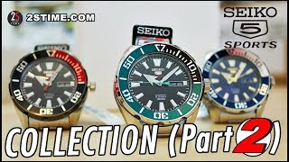 SEIKO 5 Sports SRPC COLLECTION - The Best Sport Watch Under 250€ [Part 2]