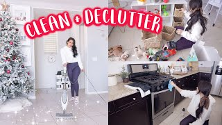 ALL DAY CLEAN WITH ME // HUGE END OF THE YEAR CLEANING, DECLUTTERING & ORGANIZING FOR 2020
