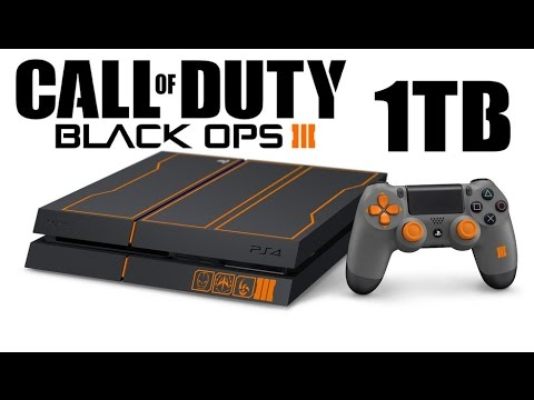 Black Ops 3 Limited Edition Ps4 1tb Bundle Console Controller W