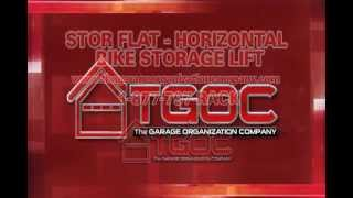 Tgoc Stor Flat Horizontal Bike Storage Lift