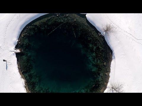 Голубое озеро. Самарская область.